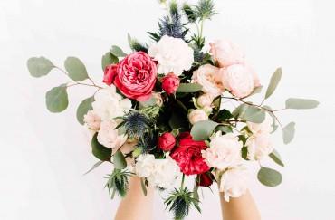 Diseños florales frescos
