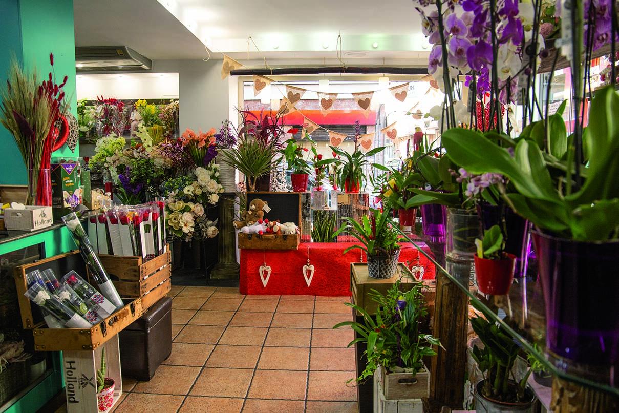 Decoración tienda Floristeria Margarita 2 - Elche Alicante